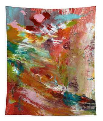 In My Dreams- Abstract Art By Linda Woods Tapestry