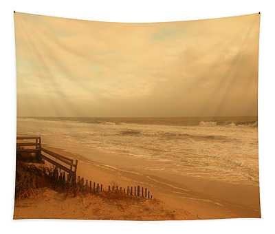In My Dreams The Ocean Sings - Jersey Shore Tapestry