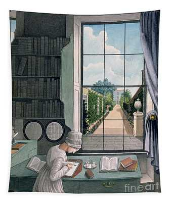 In The Library, St. James' Square Tapestry
