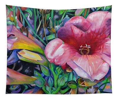 Fragrant Blooms Tapestry