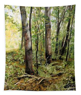 In The Shaded Forest  Tapestry