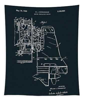 Inboard Motor Patent Tapestry