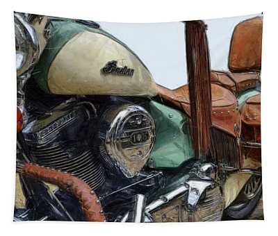 Indian Chief Vintage L Tapestry