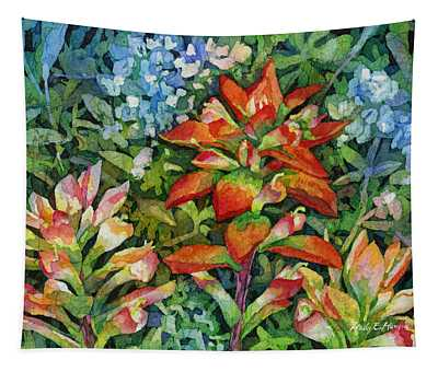 Indian Paintbrush Tapestry