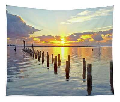 Indian River Sunrise Tapestry