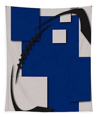 Indianapolis Colts Football Art Tapestry