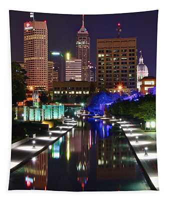 Indianapolis Eight By Ten Tapestry