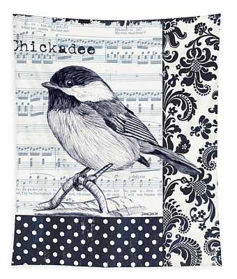 Indigo Vintage Songbird 2 Tapestry