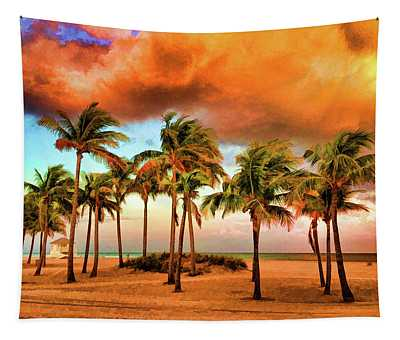 Crandon Park Beach Tapestry