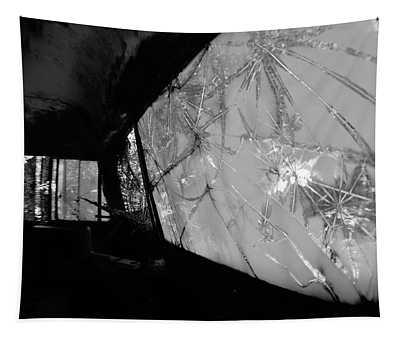 Interior In Gray Tapestry