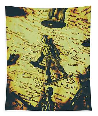 Interventionism Tapestry