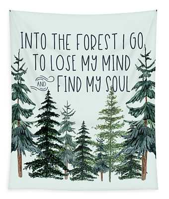 Into The Forest Tapestry