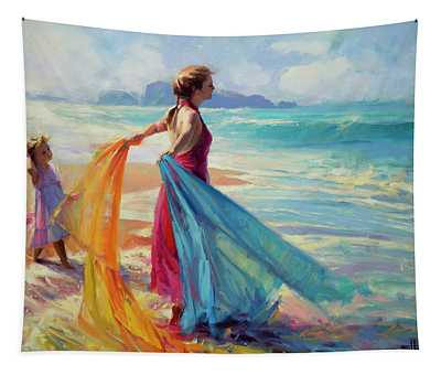 Into The Surf Tapestry