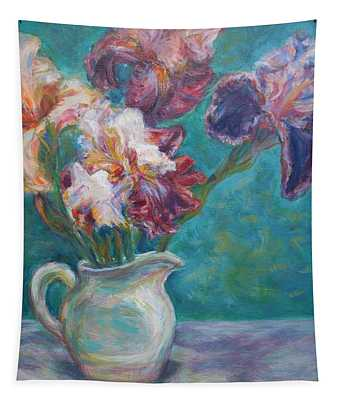 Iris Medley - Original Impressionist Painting Tapestry