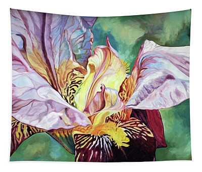 Iris Passion 1993 Tapestry