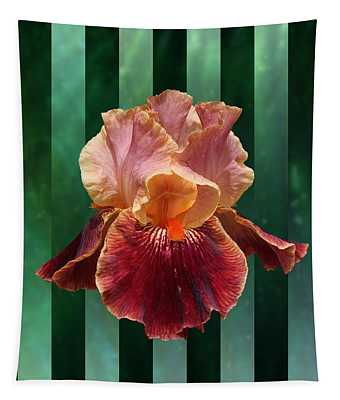 Iris Unleashed Tapestry