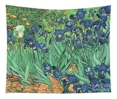 Irises Tapestry
