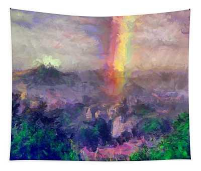 Irish Rainbow Tapestry