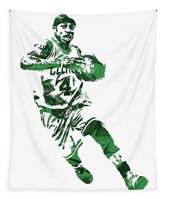 Isaiah Thomas Boston Celtics Pixel Art 5 Tapestry
