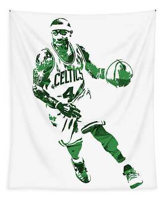 Isaiah Thomas Boston Celtics Pixel Art 6 Tapestry