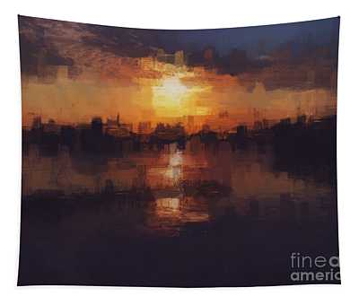 Island In The City Tapestry