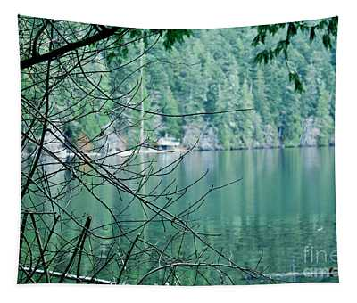 Island Lake Tapestry