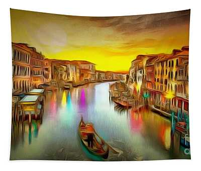 Italy In Ambiance Tapestry