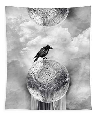 It's A Crow's World Tapestry