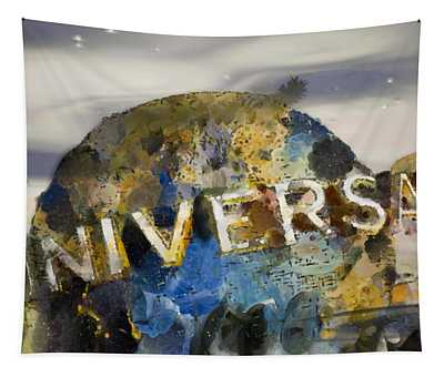 It's A Universal Kind Of Day Tapestry