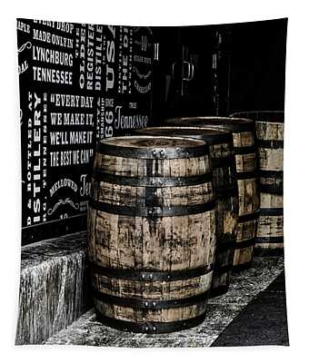 Jack Daniel's Tennessee Whiskey Barrels Tapestry