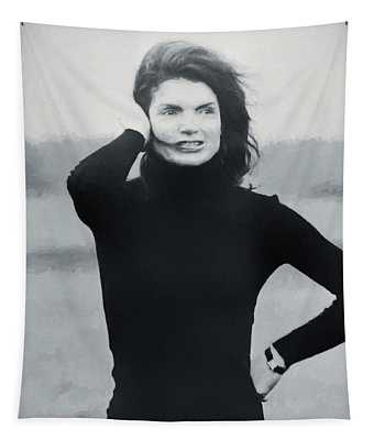 Jackie Kennedy - Painting Tapestry