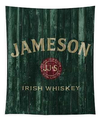 Jameson Irish Whiskey Barn Door Tapestry
