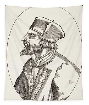 Jan Hus, C.1369 To 1415 Aka John Huss Tapestry
