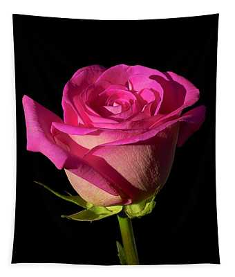January Rose Tapestry
