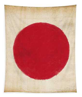 Japan Flag Tapestry