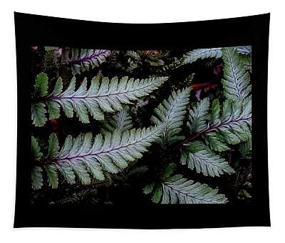 Japanese Painted Fern Tapestry