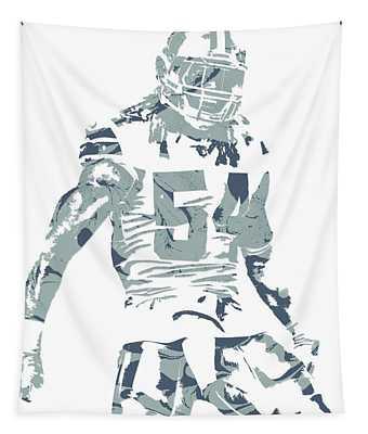 Jaylon Smith Dallas Cowboys Pixel Art Tapestry