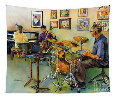 Jazz At The Gallery Tapestry