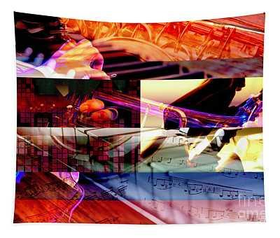 Jazz Chords Tapestry