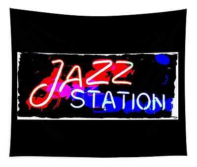 Jazz Station Tapestry