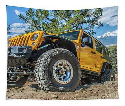 Jeep Life Tapestry