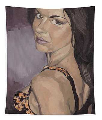 Jenny In Black Tapestry