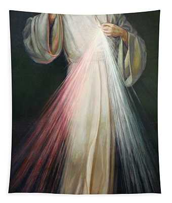Jesus Of Mercy Tapestry