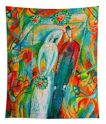 Jewish Wedding Tapestry