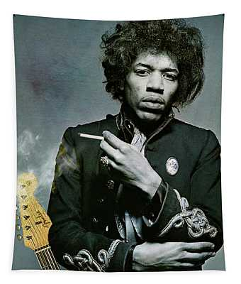 Jimi Hendrix, Fender Guitar Tapestry