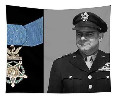 Jimmy Doolittle And The Medal Of Honor Tapestry