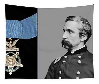 J.l. Chamberlain And The Medal Of Honor Tapestry