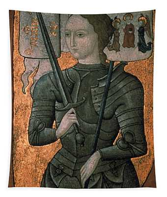 Joan Of Arc (c1412-1431) Tapestry
