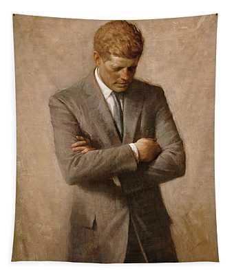 John F Kennedy Tapestry