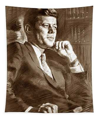 John Fitzgerald Kennedy Tapestry